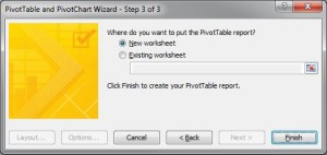 Unpivot Excel data - Pivot Wizard Step 3